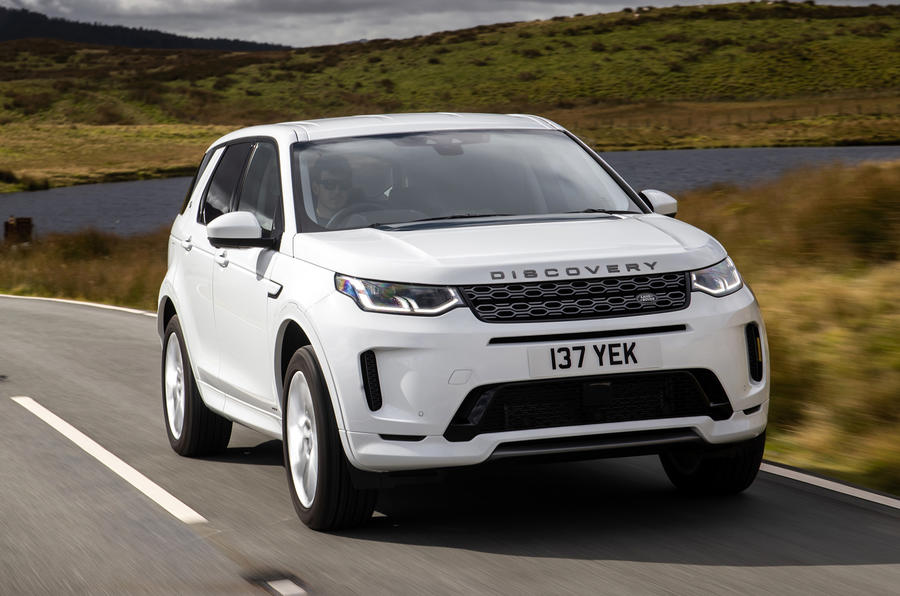 Land Rover Discovery Sport P300 PHEV 2020 UK first drive review - hero front