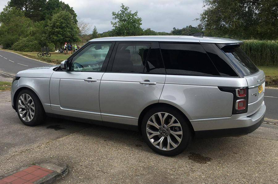Land Rover Range Rover - static side