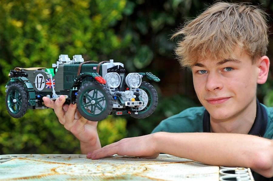 Lego Bentley Blower