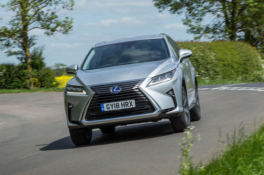 Lexus RX 450hL 2018 review hero front