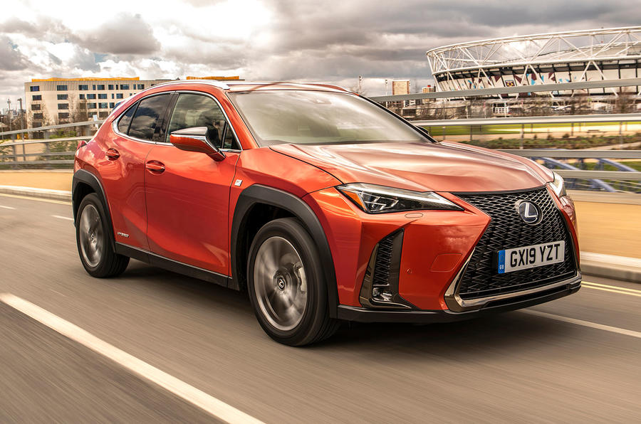 Lexus UX 2019 UK first drive review - hero front