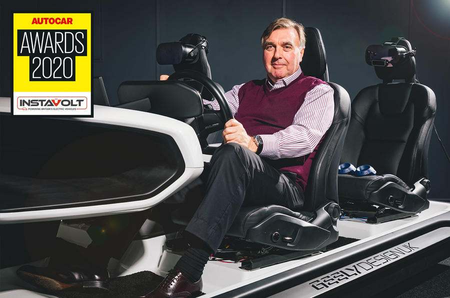 Autocar Awards 2020 lifetime achievement award Peter Horbury
