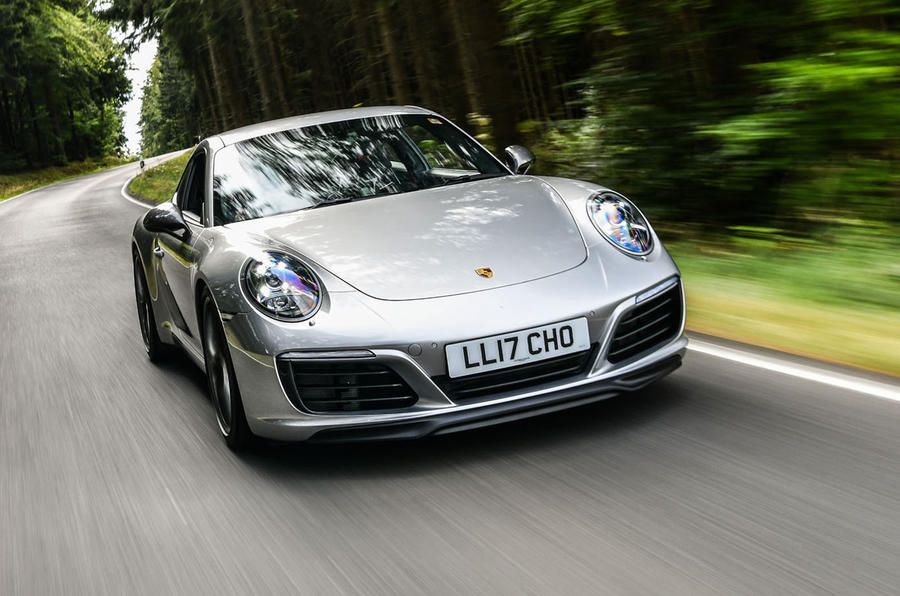 Litchfield Porsche 911 Carrera T 2018 first drive review - hero front