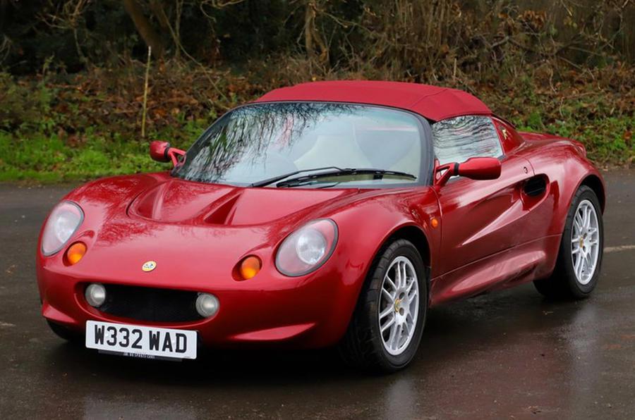 Lotus Elise - static front