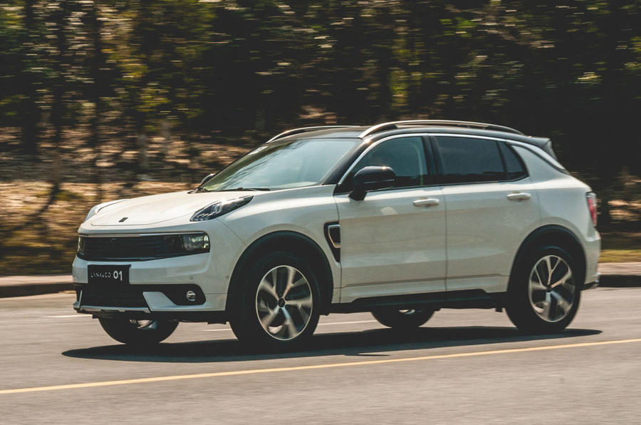 Lynk & Co 01 first drive review - front