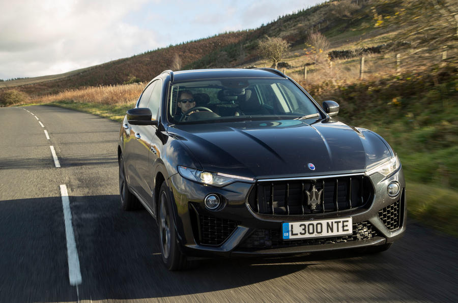 Maserati Levante GranSport V6 2018 first drive - hero front