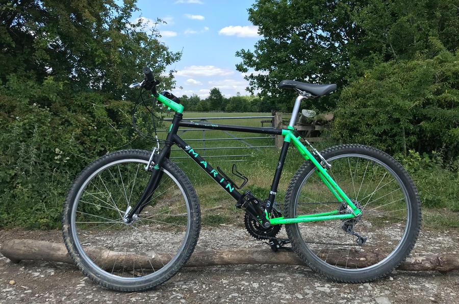 Matthew's bike