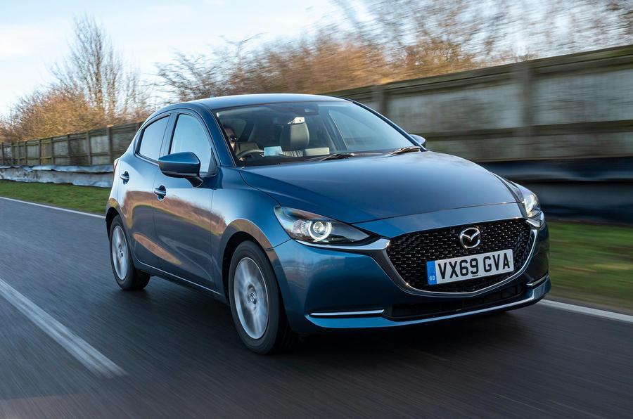 Mazda 2 Sport Nav 2020 UK first drive review - hero front