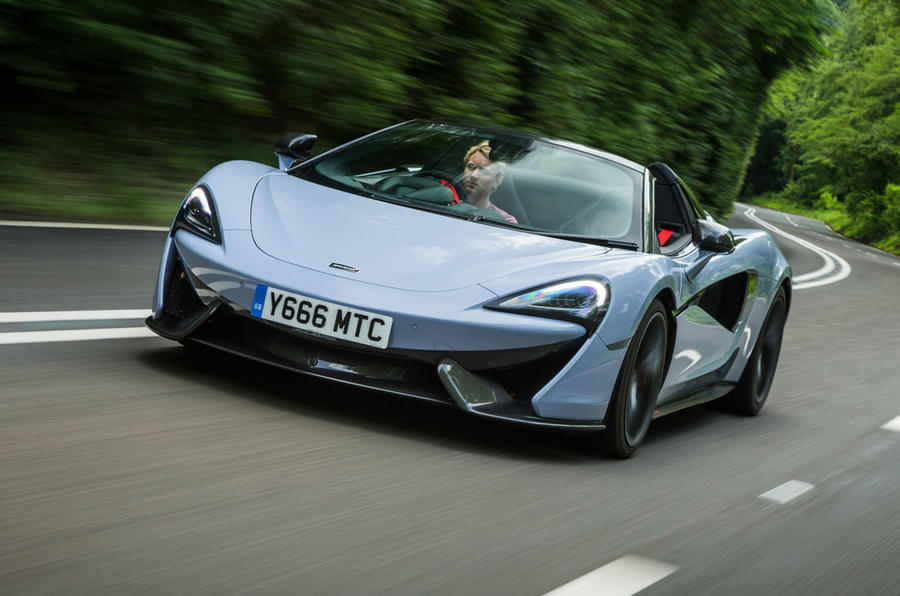 Mclaren 570s Spider Track Pack 2018 Uk Review Autocar
