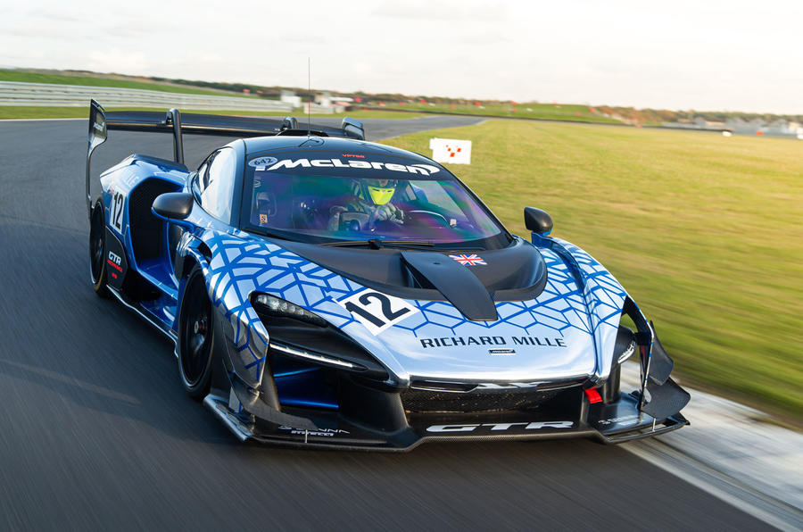 McLaren Senna GTR 2019 first drive review - hero front