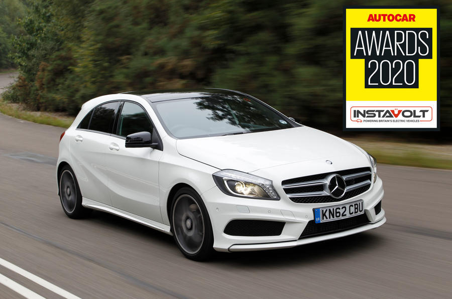 Autocar Awards 2020 Used Car Hero - Mercedes-Benz A-Class