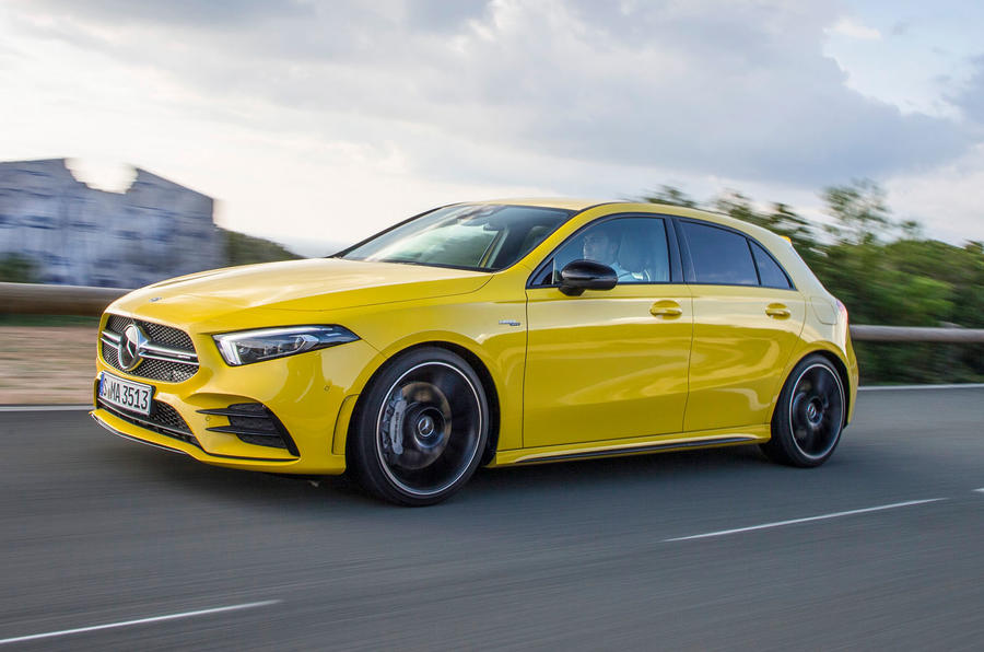 Mercedes-AMG A35 2018 first drive review - hero front