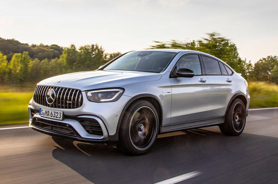 Mercedes-AMG GLC 63 S Coupé 2019 first drive review - hero front