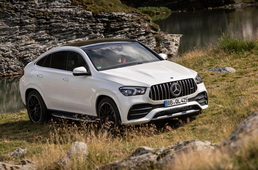 Mercedes-AMG GLE 53 prototype ride - static front
