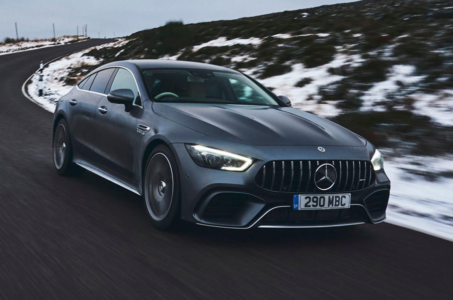 Mercedes-AMG GT 63 S 4-door Coupé 2019 UK first drive review - hero front