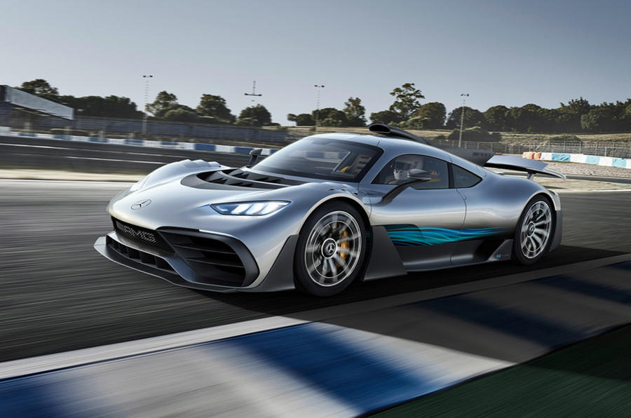 Mercedes-AMG One - hero front