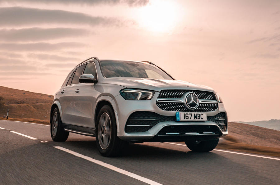 Mercedes-Benz GLE 2019 UK first drive review - hero front