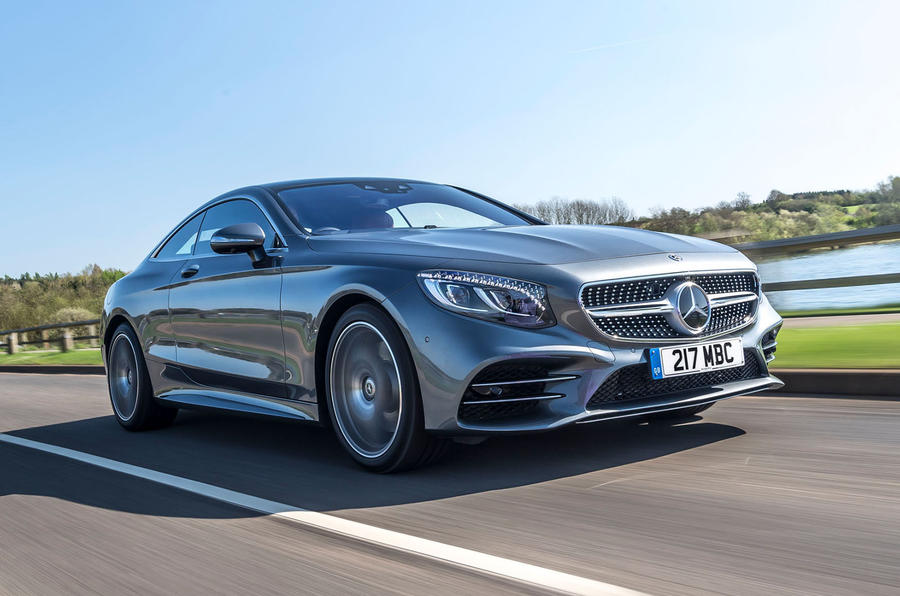 Mercedes-Benz S560 Coupe 2018 UK review hero front