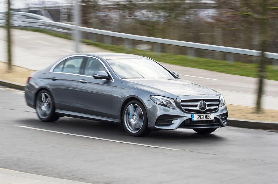 Mercedes-Benz E-Class E300de 2019 UK first drive review - hero front