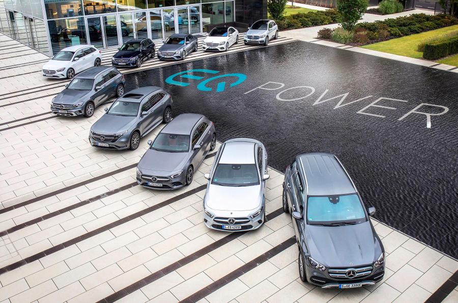 Mercedes EQ family