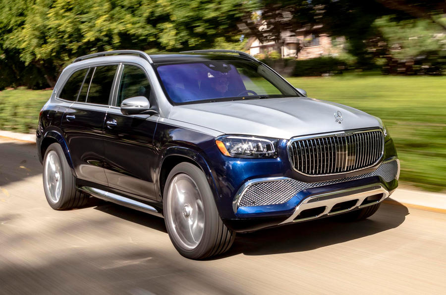 Mercedes-Maybach GLS 600 2020 first drive review - hero front