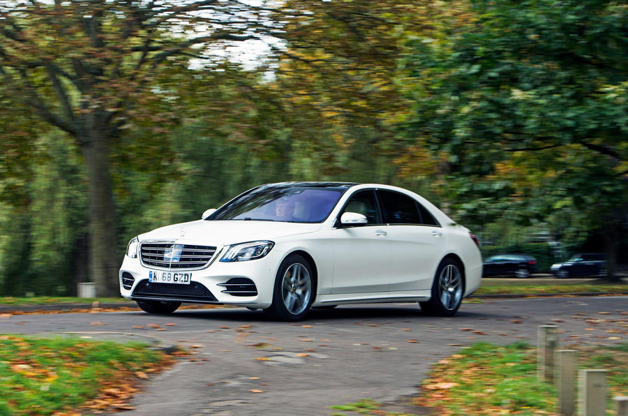 Mercedes-Benz S-Class S500L 2018 long-term review - hero front