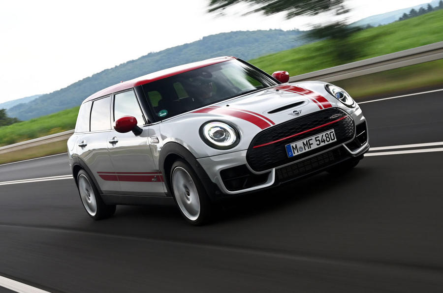 Mini Clubman John Cooper Works 2019 first drive review - hero front