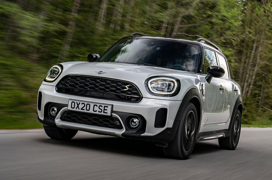 Mini Countryman Cooper S E All4 2020 first drive review - hero front