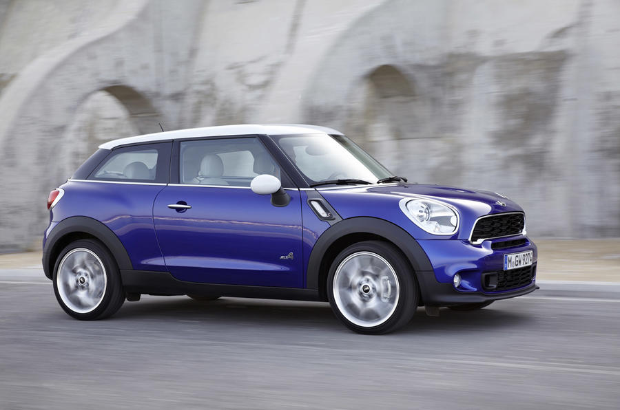 Mini Paceman - hero side