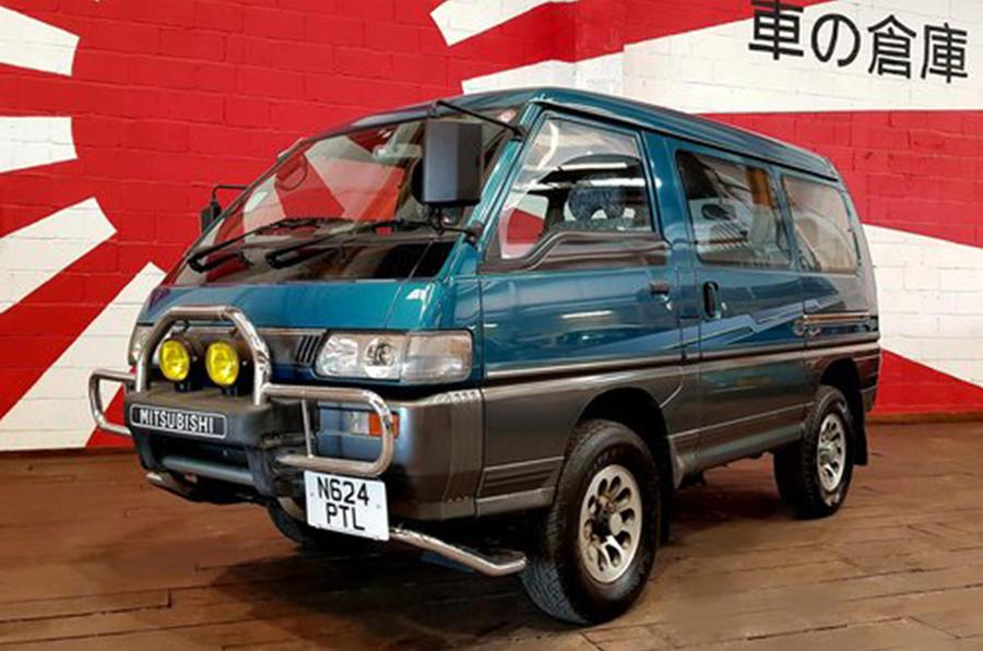 Mitsubishi Delica - front