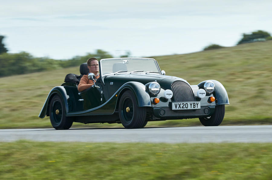 Morgan Plus Four 2020 UK first drive review - hero front