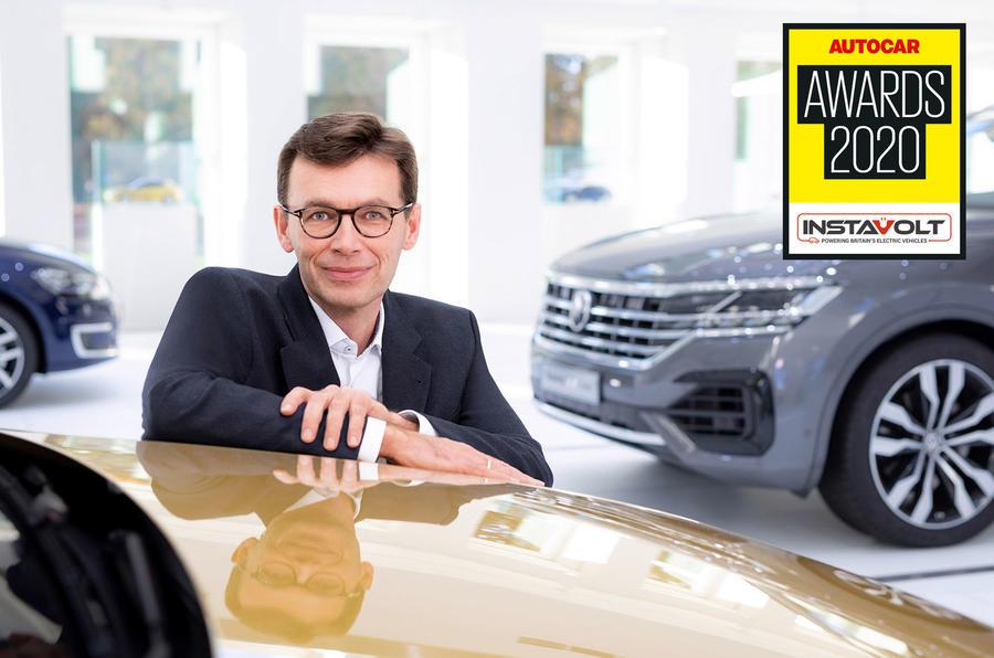 Autocar Awards 2020 Mundy award for engineering Frank Welsch