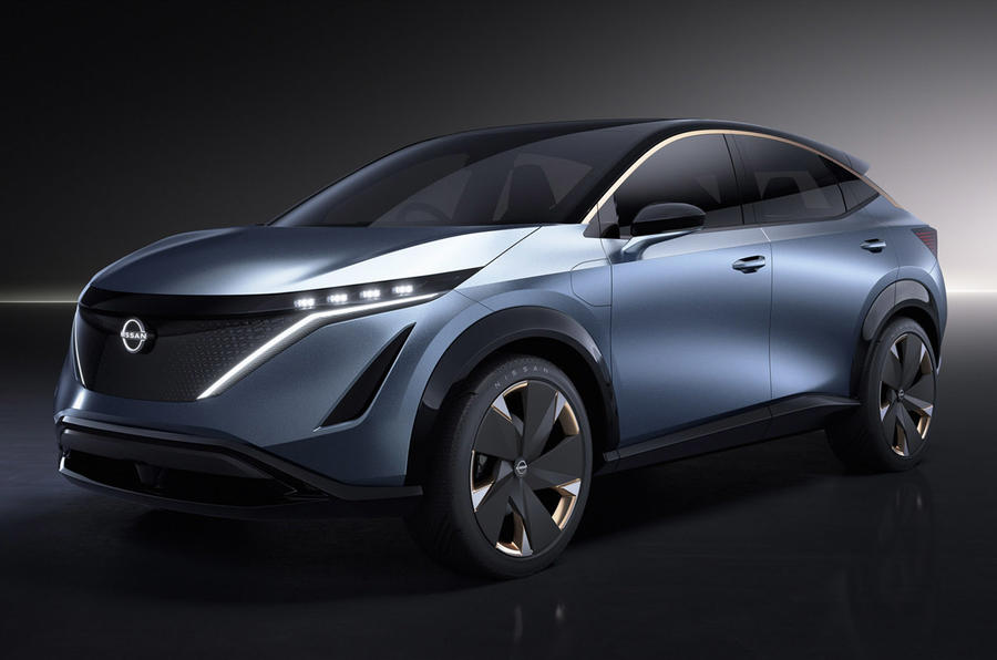Nissan Ariya concept 2019 - static front