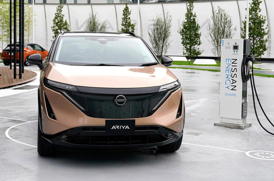 Nissan Ariya - static front