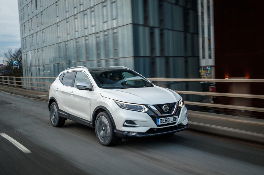 Nissan Qashqai 2018 UK first drive review - hero front