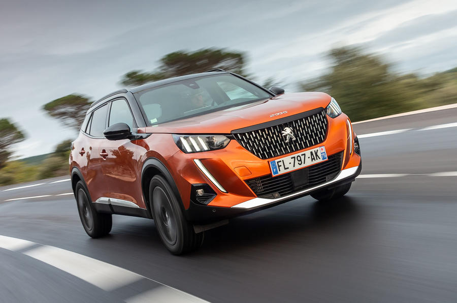 Peugeot 2008 2020 first drive review - hero front