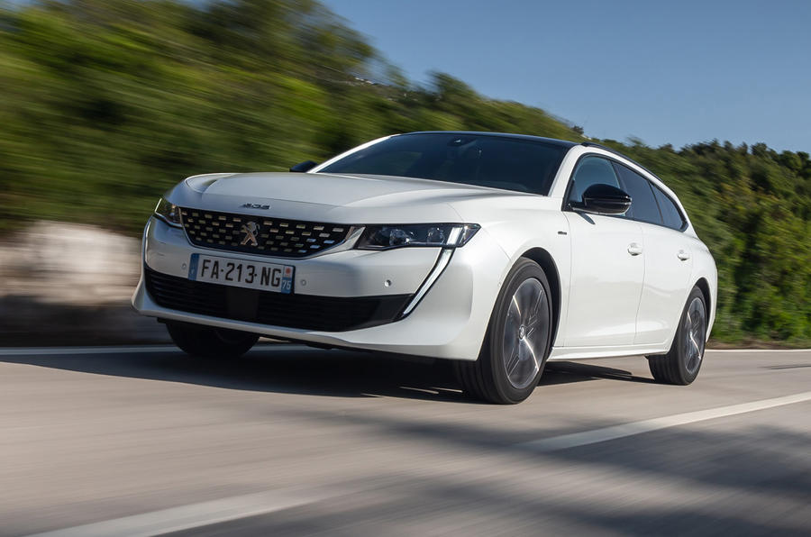 Peugeot 508 SW 2018 first drive review - hero front