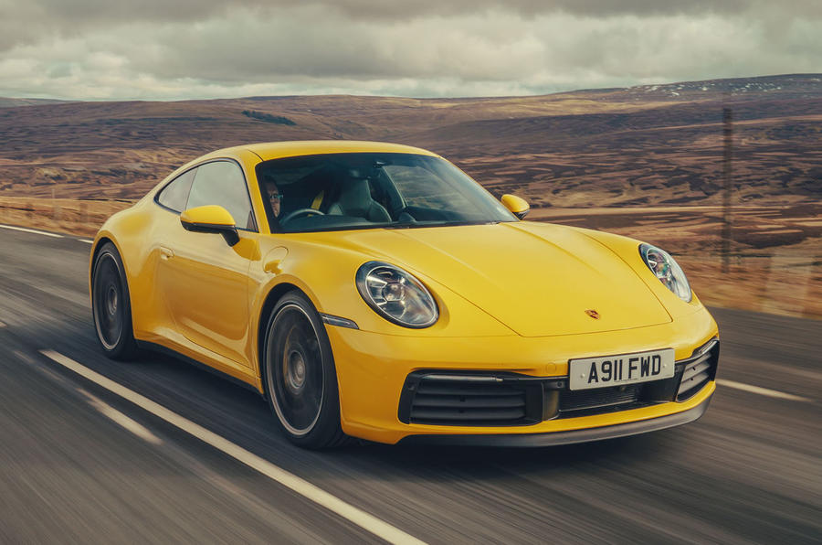 Porsche 911 Carrera 4S 2019 UK first drive review - hero front