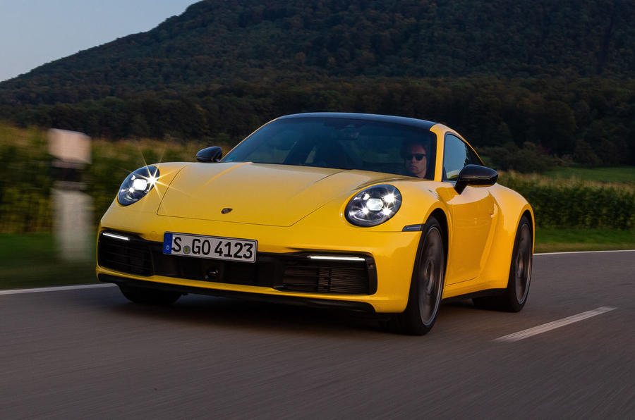 Porsche 911 Carrera 2019 first drive review - hero front