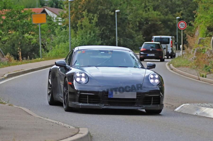 2020 Porsche 911 GT3 speckled contrast front