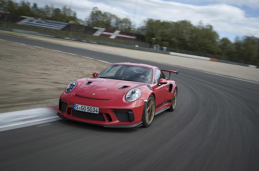 Porsche 911 GT3 RS 2018 review hero front