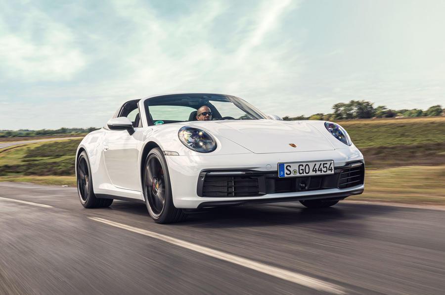 Porsche 911 Targa 2020 UK first drive review - hero front