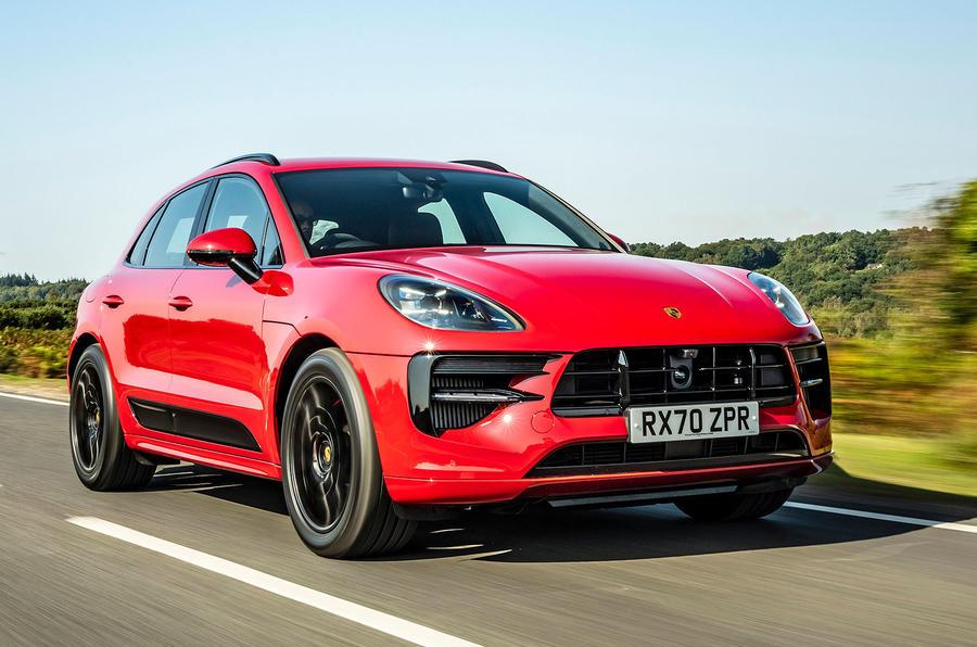 1 Porsche Macan GTS 2020 UK first drive review hero front