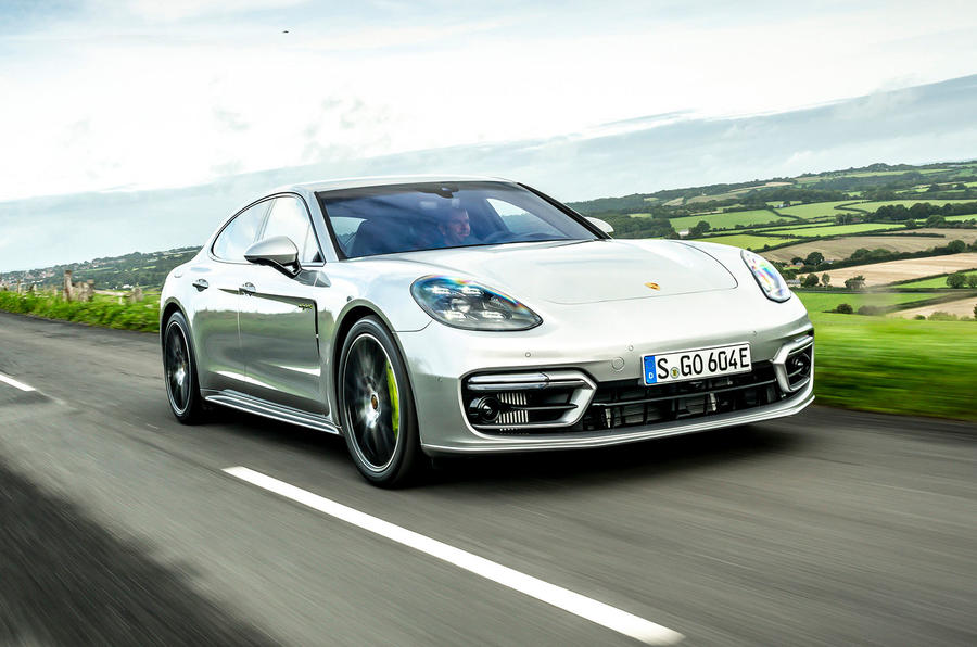 Porsche Panamera e-Hybrid 2020 UK first drive review - hero front