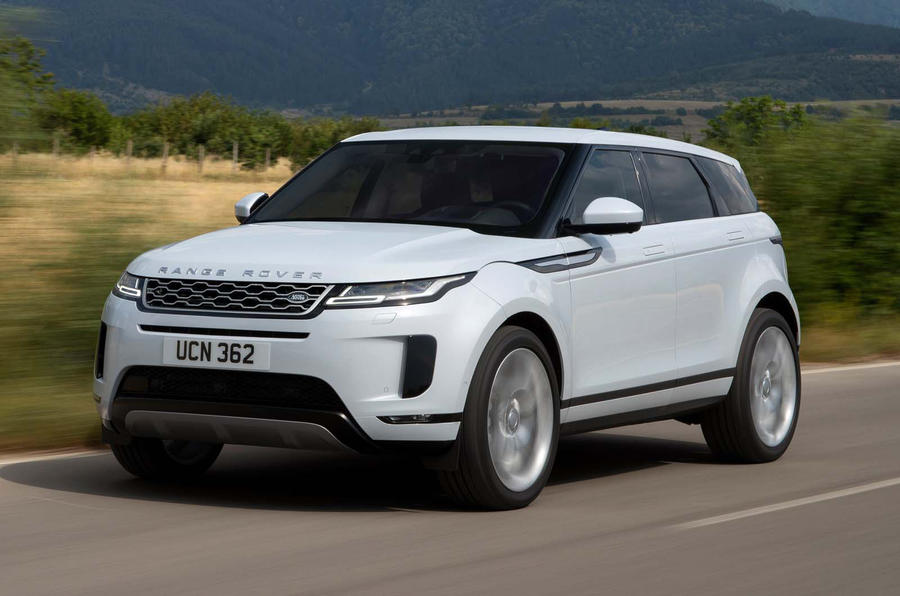 Range Rover Evoque 2019 official reveal - hero front