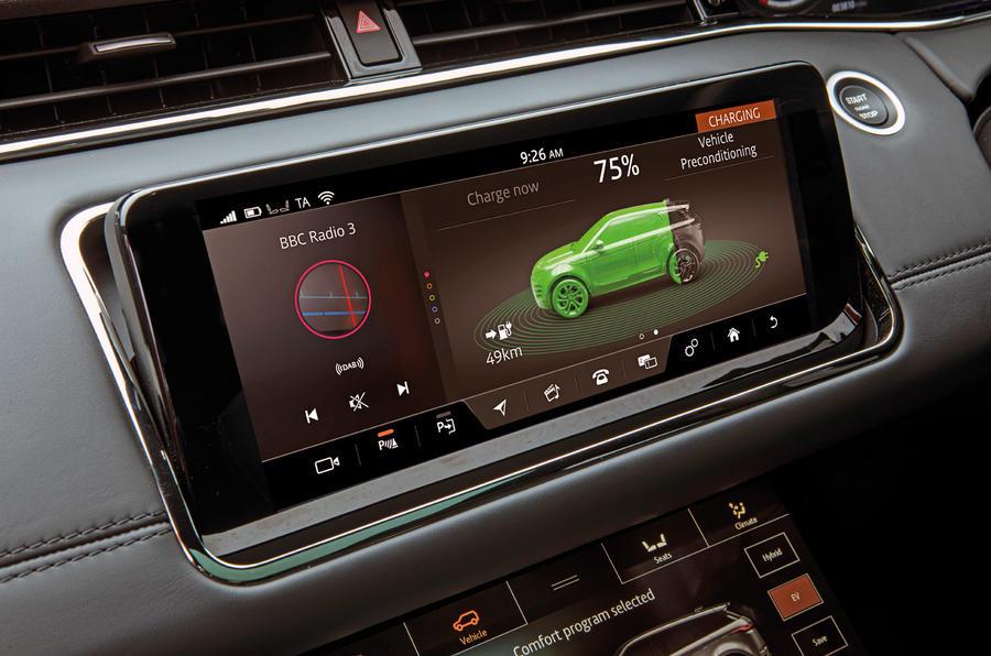 Range Rover Evoque PHEV 2020 - interior