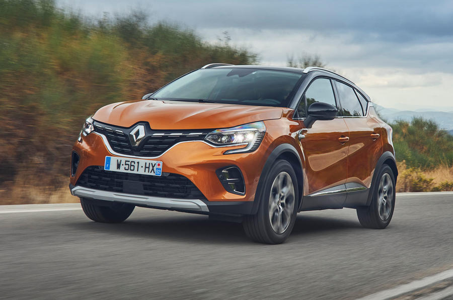 Renault Captur 2019 first drive review - hero front