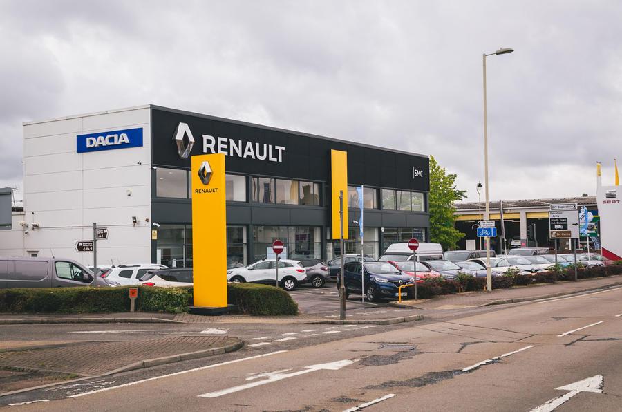 Renault car dealership