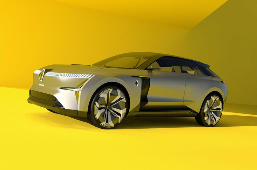 Renault Morphoz concept 2020 - static front