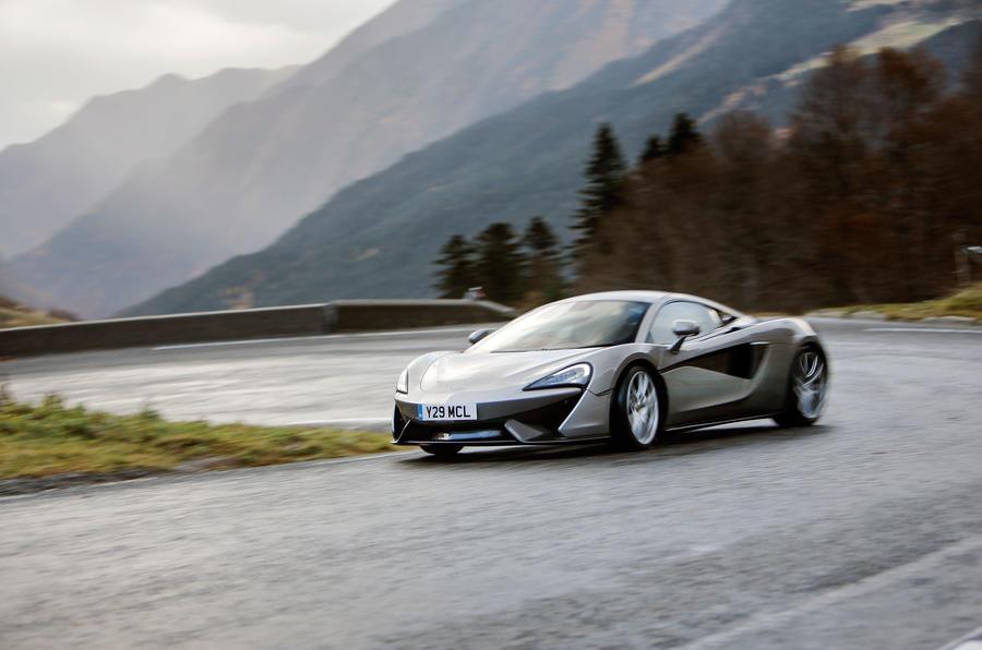 McLaren 570S road trip